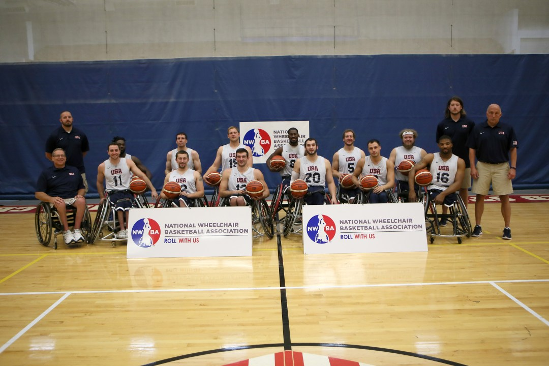 USA Men's Team for Rio 2016