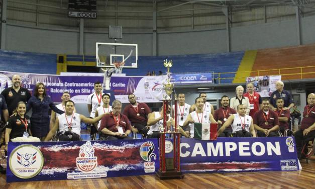 Mexico win Gold at the Centro Basket 2016 Costa Rica BSR Championships