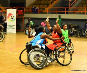 RT. Honourable Victor Ochei International Wheelchair Basketball Championship Womens team