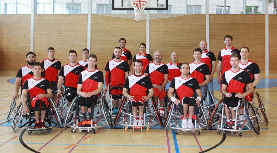 Swiss National Team at the Euros 2015
