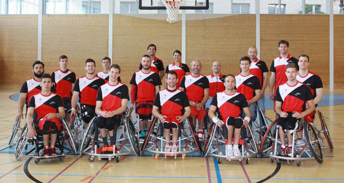 Team cohesion and steady progress in wheelchair basketball important for the Swiss