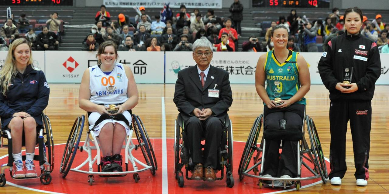 The Netherlands women win the 2017 Osaka Cup