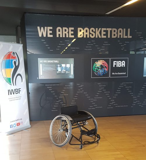 Wheelchair Basketball becomes immersed in the House of Baskteball