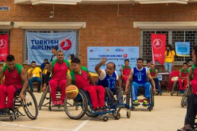 Engage Wheelchair Basketball League in Nepal