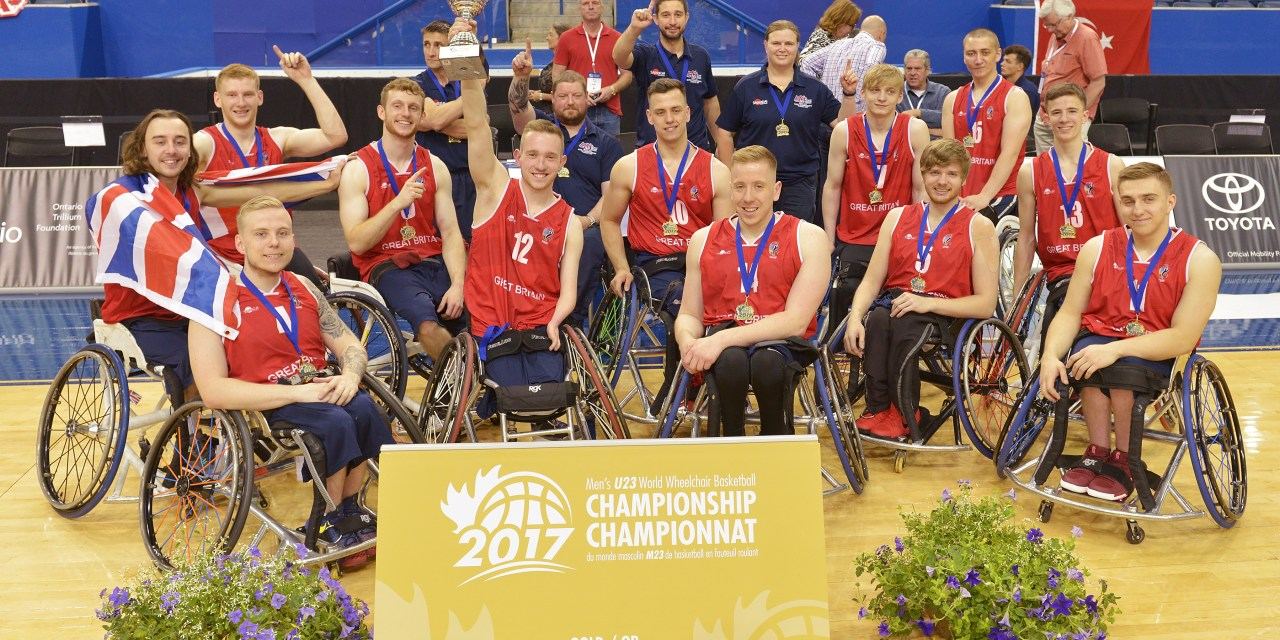 Great Britain crowned Men's U23 World Champions 2017