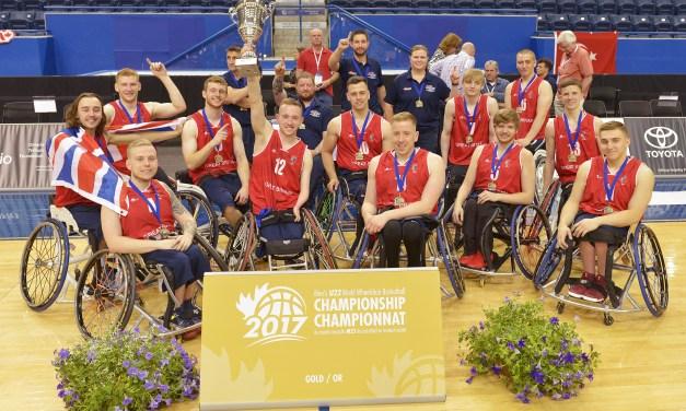 Great Britain crowned Men's U23 World Champions 2017