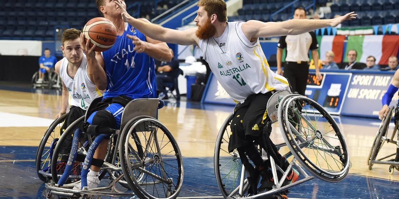 Day 4 of the 2017 Men's U23 World Wheelchair Basketball Championship