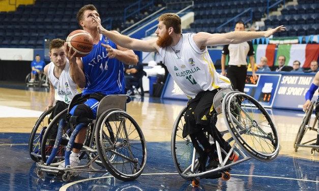 Day 4 of the 2017 Men's U23 World Wheelchair Basketball Championship