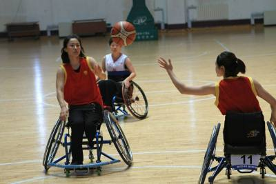 China's National Wheelchair Basketball Championships 2017