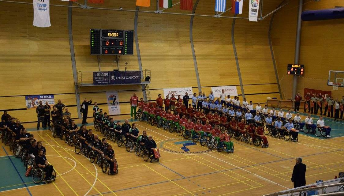 Hosts Czech Republic open Euro Champs Division C with win