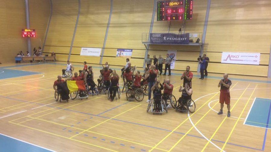 Gold for Belgium at European Championships Division C