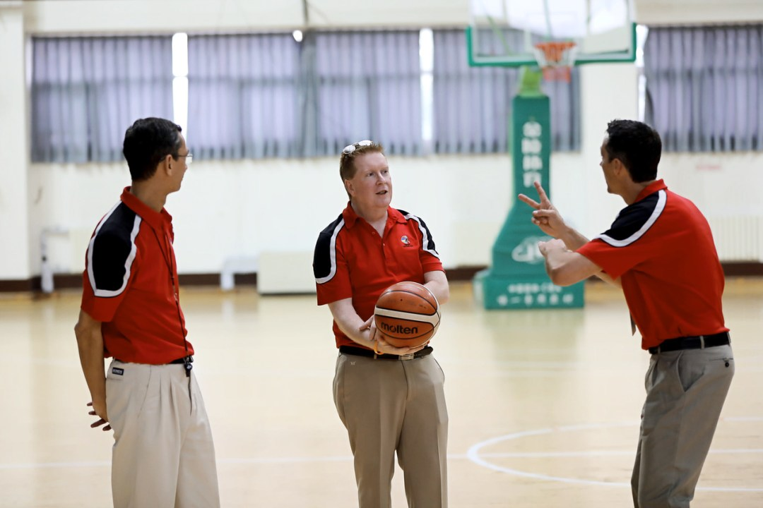 Referee Instructors at the referee clinic in the Asia Oceania Zone