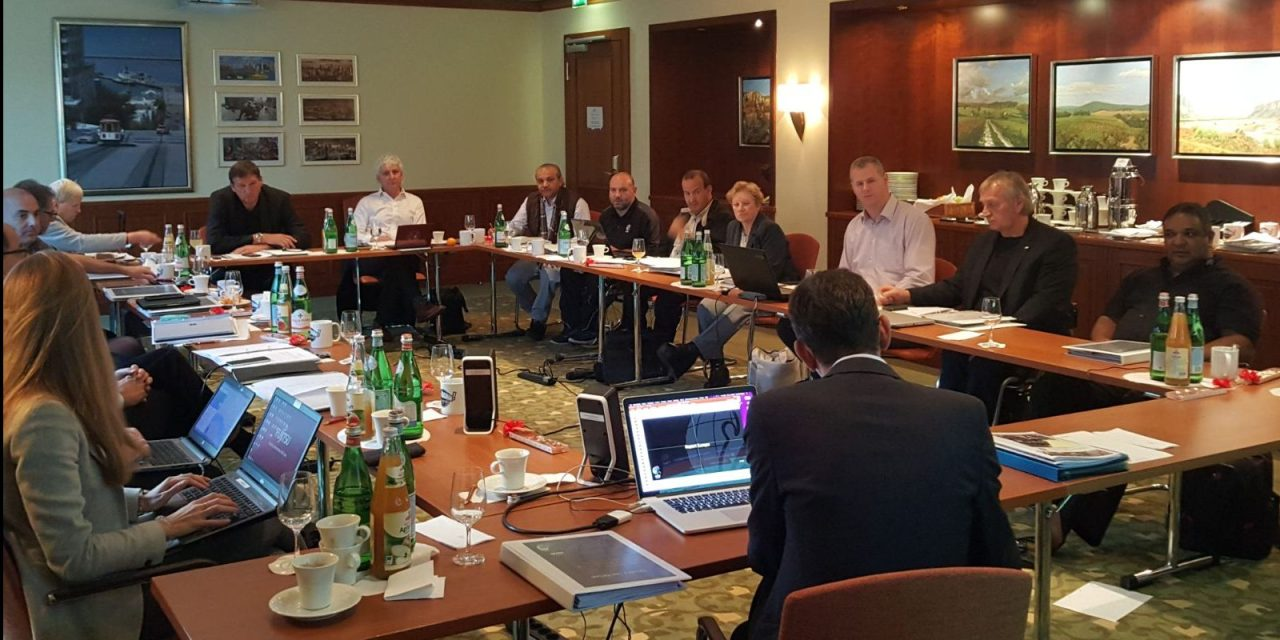 IWBF Executive Council meets in Hamburg, Germany