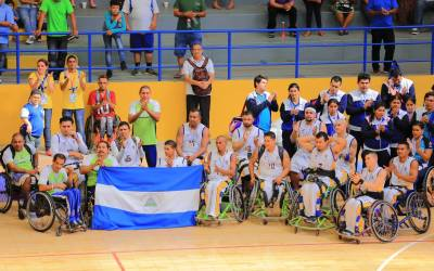 Nicaragua men crowned champions of wheelchair basketball at Para Central American Games