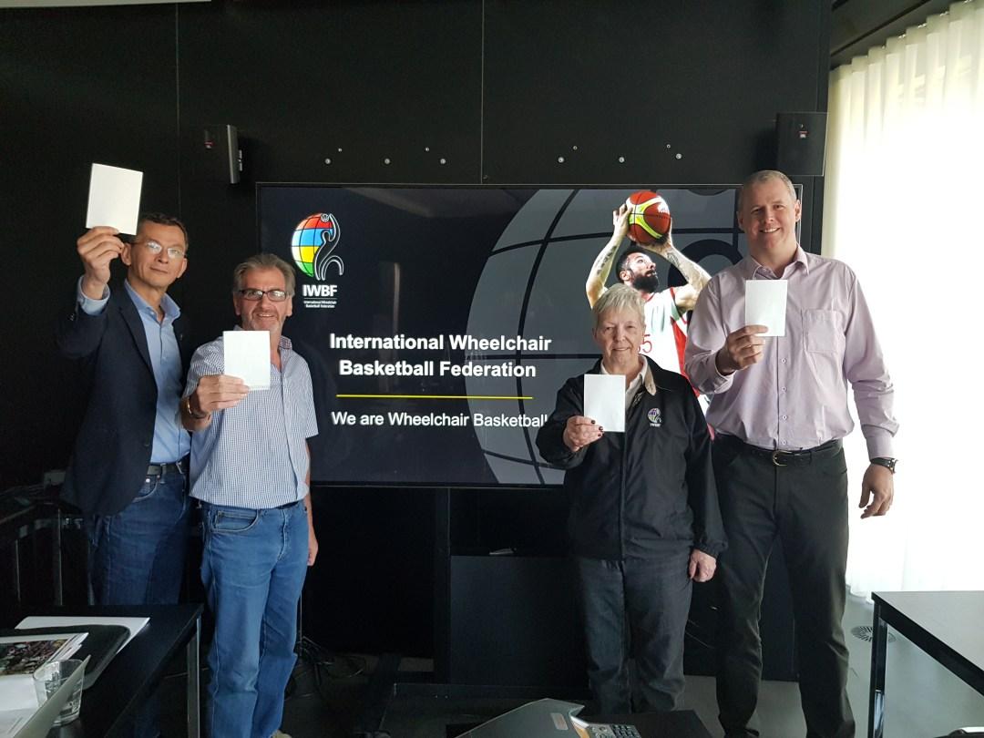 IWBF raise our #WhiteCard for IDSDP2018