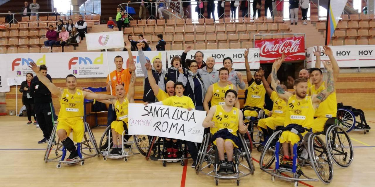 EuroLeague 3 Final won by Italy's SSD Santa Lucia
