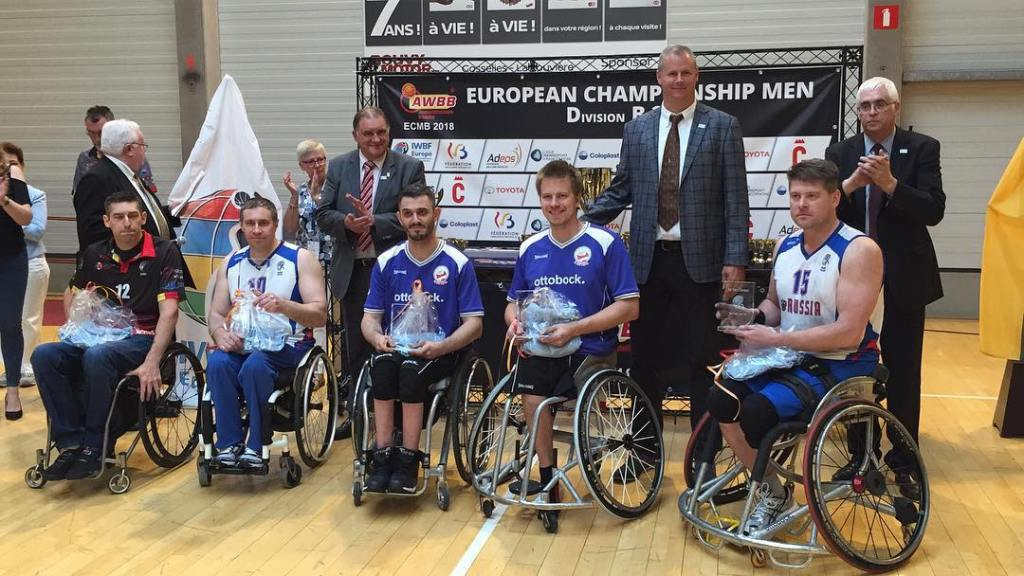 All Star Five at Euro Champs Div B