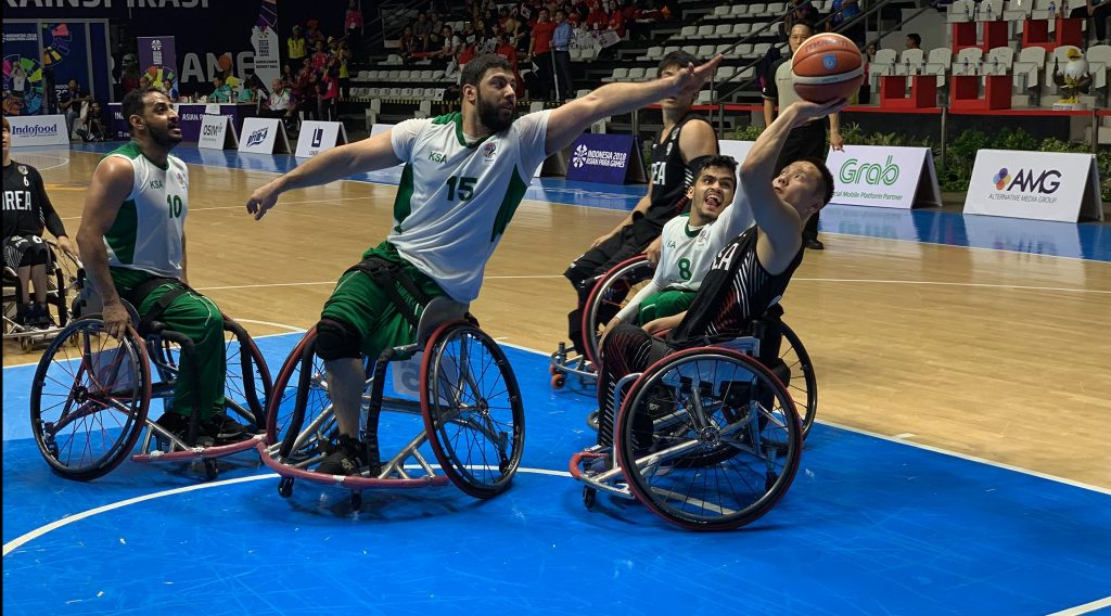 Saudi Arabia up against South Korea at the 2018 Asian Para Games