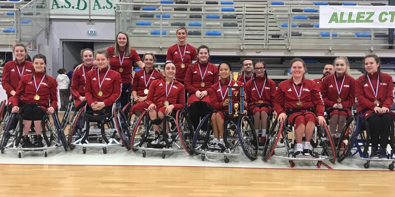 GB U24 women's team crowned European Champions