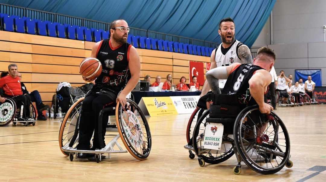 Final of the 2019 EuroLeague 1 between Bilbao and Besiktas.