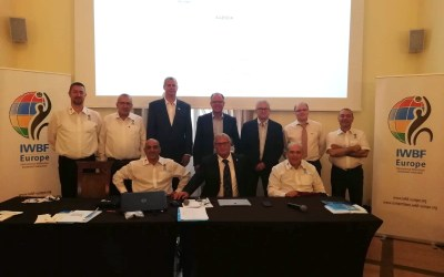New Executive Council elected for IWBF Europe