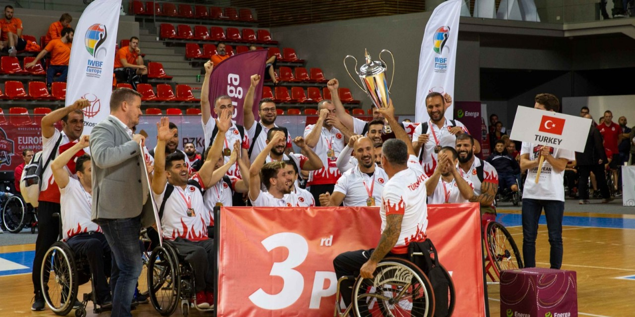 Turkey claim first ever European bronze medal