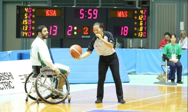 Three translations of the 3×3 Official Wheelchair Basketball Rules published
