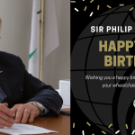 Happy 70th Birthday Sir Philip Craven MBE