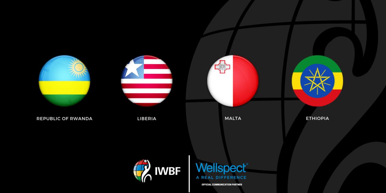Ethiopia, Rwanda, Liberia and Malta become new members of IWBF