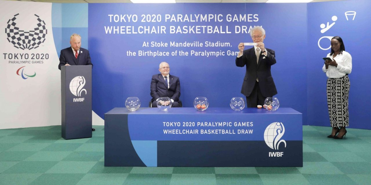 Groups confirmed for Tokyo 2020 Paralympic Games