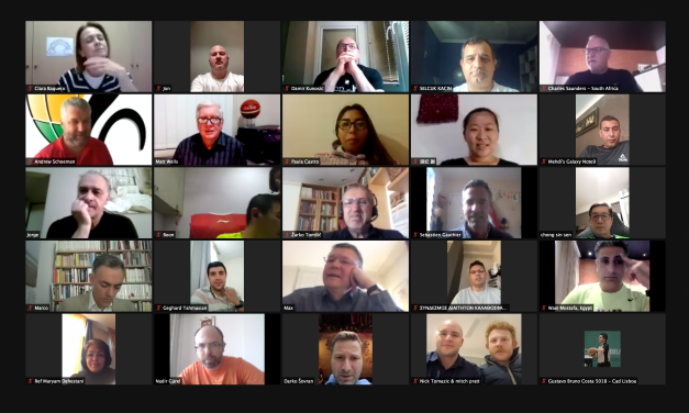 Over 100 International Technical Officials join virtual assembly