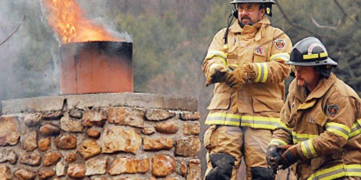 Chimney fires Ireland - insurance advice | chimney damage advice | Chimney CCTV survey
