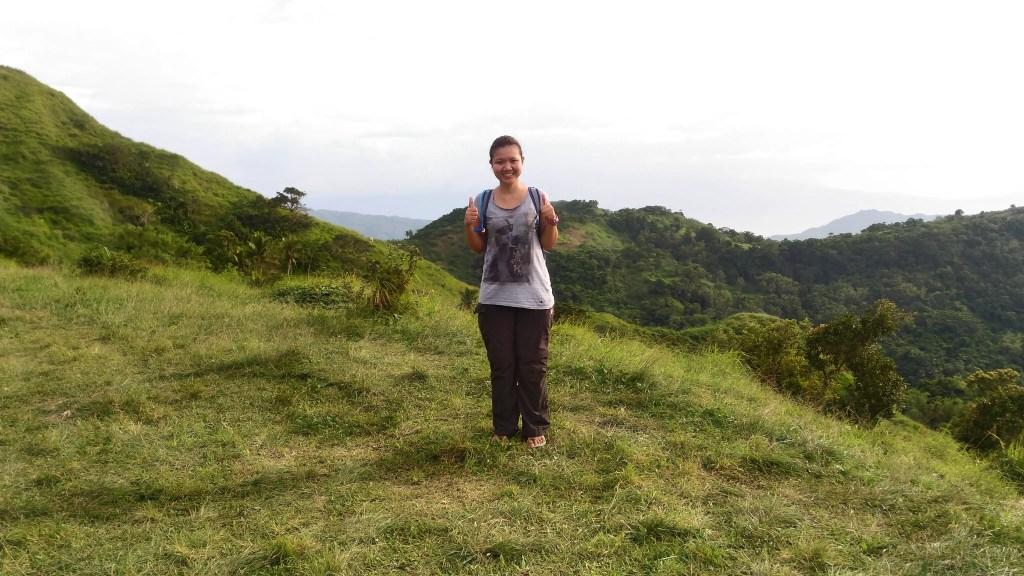 Me at Mt Gulugod baboy