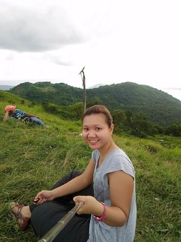 Selfie at Mt Gulugod Baboy