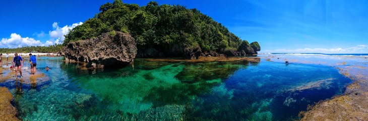 Magpupungko Rock Pools