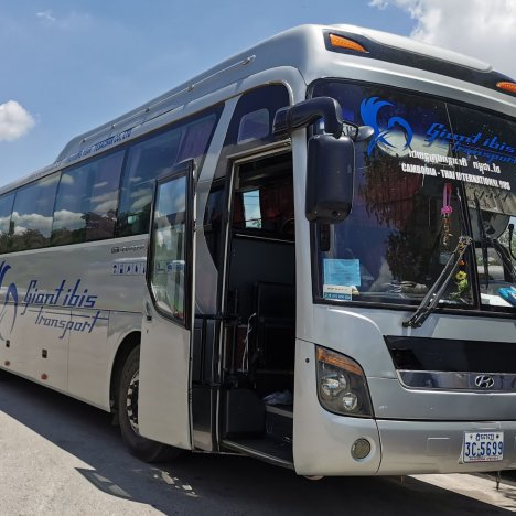 Traveling to Phnom Penh, Cambodia from Ho Chi Minh City, Vietnam by Bus
