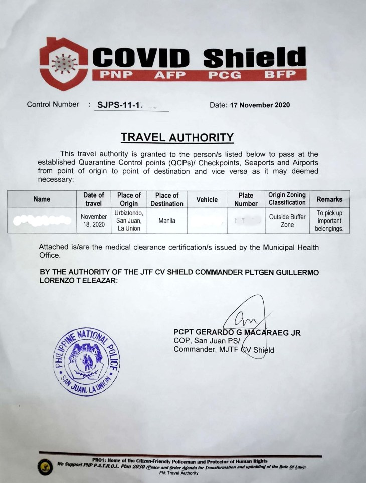 The Travel Authority from San Juan, La Union