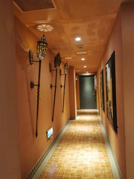 The hallway of Amanda Hotel Kenting