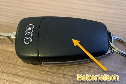 Audi Schlusselbatterie Wechseln