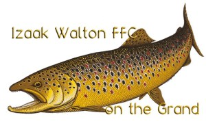 Izaak Walton on the Grand Logo