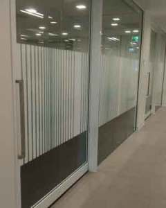 Office Privacy Films Adelaide