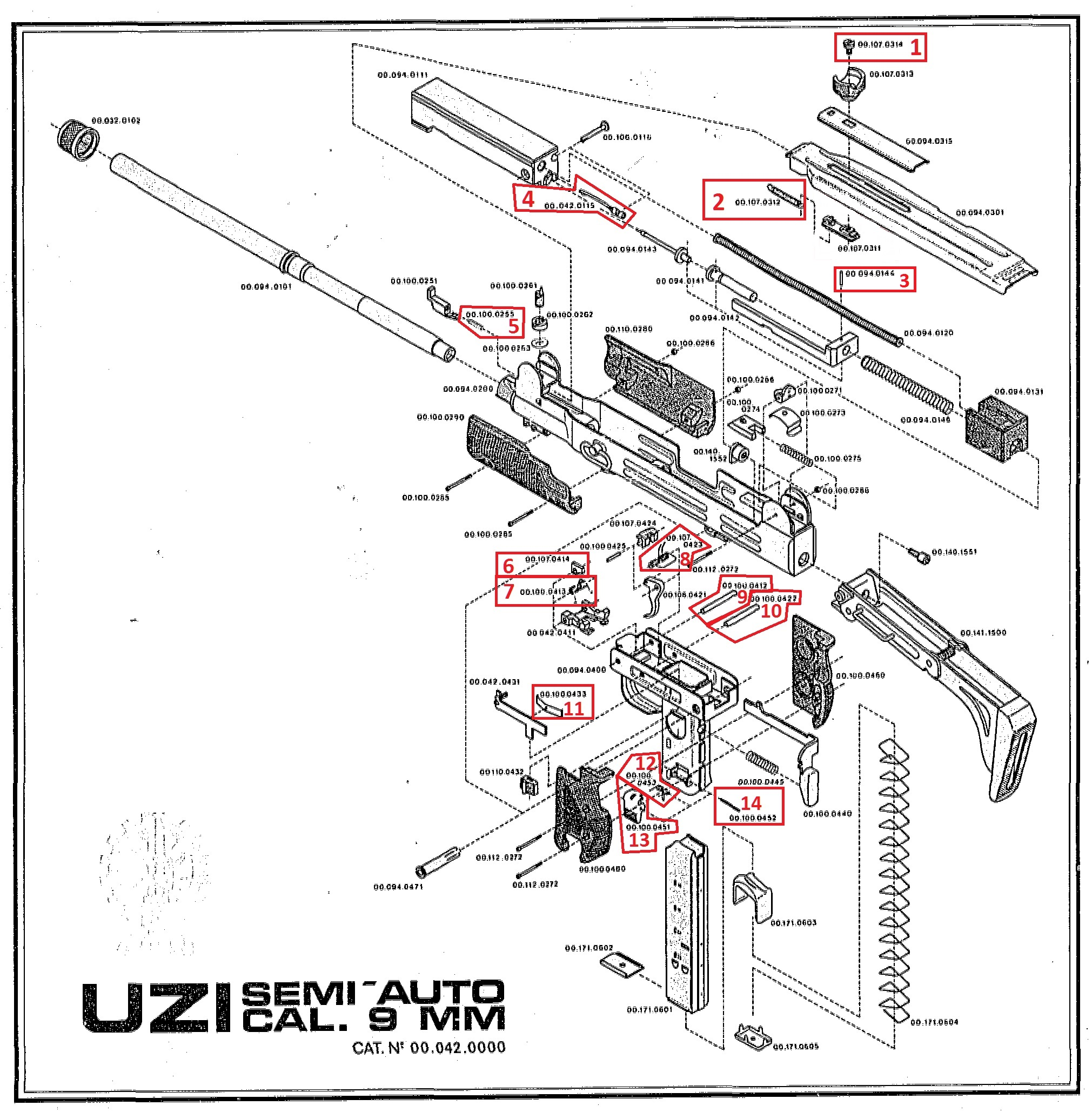 Uzi Magazine Catch