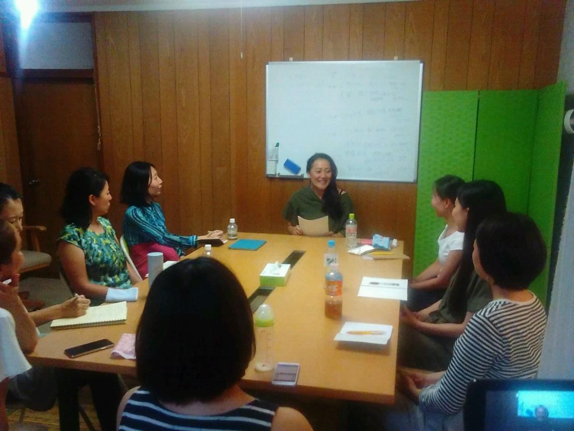 20180823194933 1 - 2018年8月23日愛の子育て塾第13期第1講座開催しました。