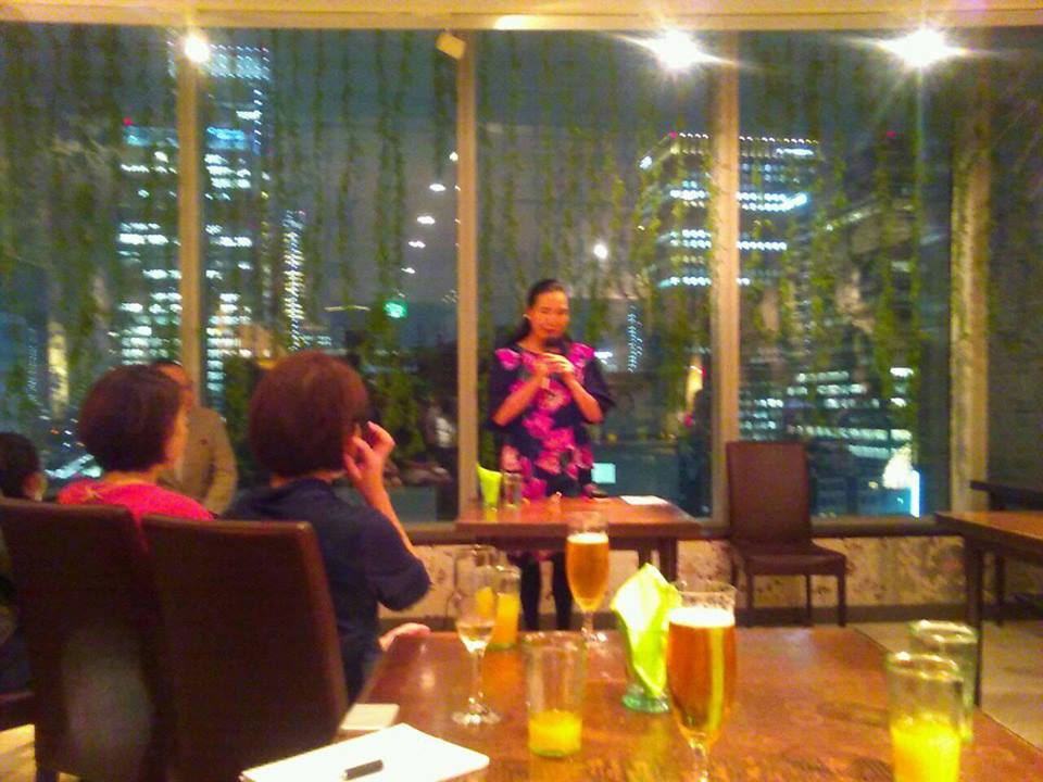 今野華都子先生を講師に迎えて『透明な在り方フォーラム』開催しました。