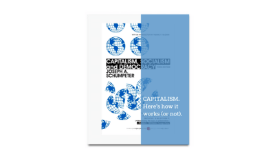 Capitalism, Socialism and Democracy Joseph Schumpeter book review by GreatBooks&Coffee | Kick-Ass Book Reviews Blog