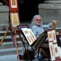 Sean Connery lookalike in Florence, Italy - I Will Travel Blog