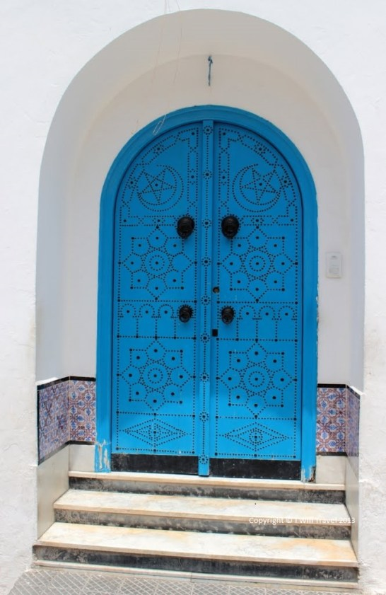 Travel Expectations - Sidi Bou Said has stunning whites and blues