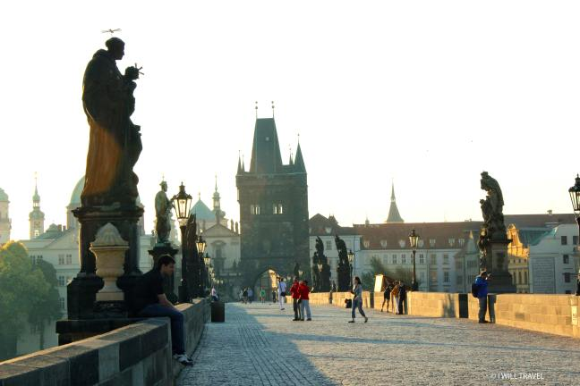 Charles Bridge, Prague in the early morning hours