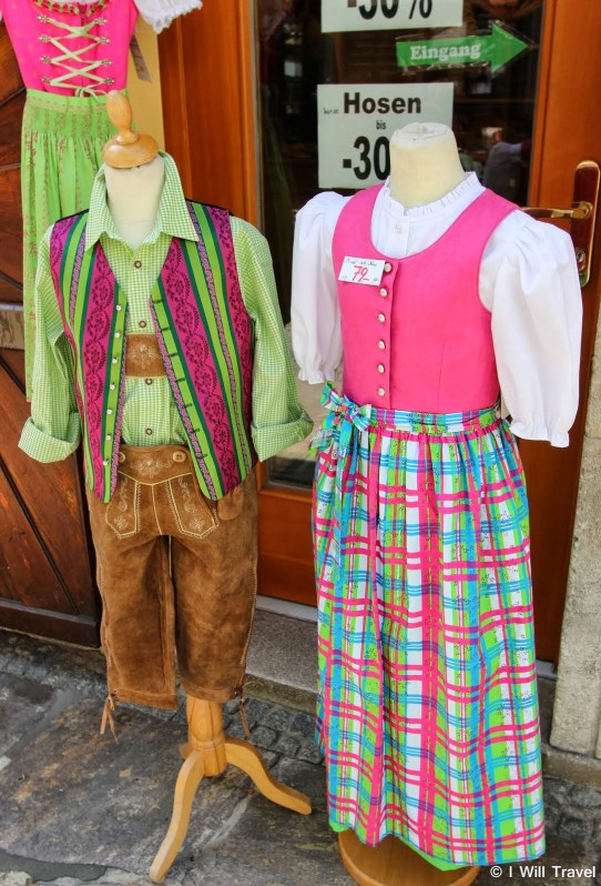 Kid's Lederhosen and Dirndl