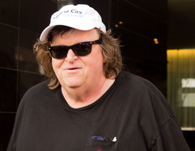 Michael Moore at TIFF 2014